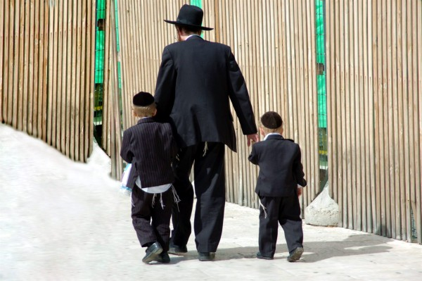 Jewish family-ultra Orthodox