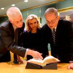 London library-Netanyahu
