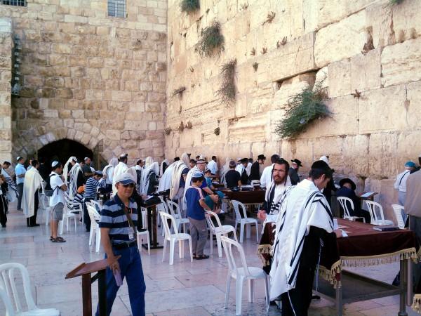 Minyan-Western Wall-Jewish prayer