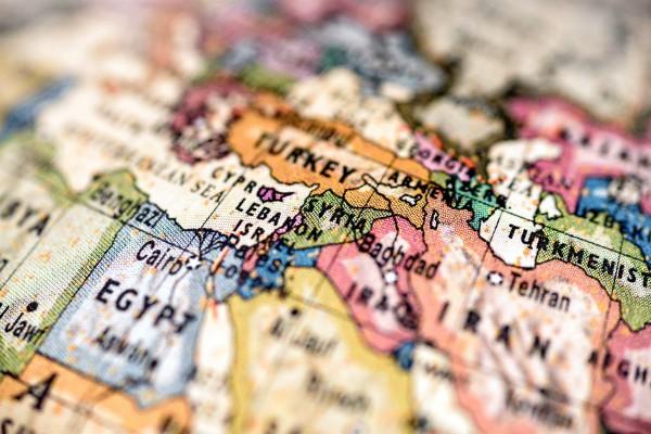 Israel-Syria-map