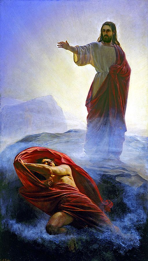 <b>Yeshua Is Tempted</b>, by Carl Heinrich Bloch (1834–1890), depicts Yeshua's victory over Satan's attempts to lead Him into sin <em> (see Luke 4:1–12).</em>