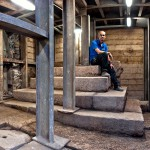 Israel Antiquities Authority-City of David-podium-Second Temple-stairs