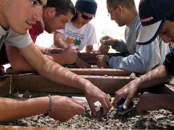 Temple Mount excavation-archaeology-Jerusalem-Temple Mount debris