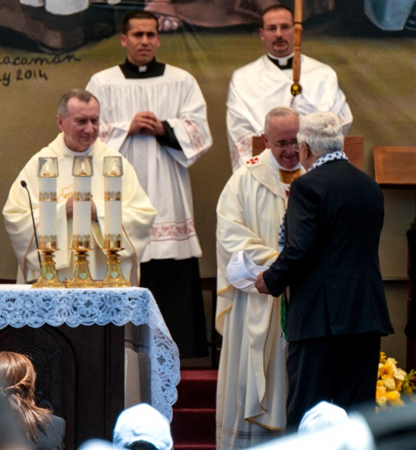 Pope Francis-Abbas