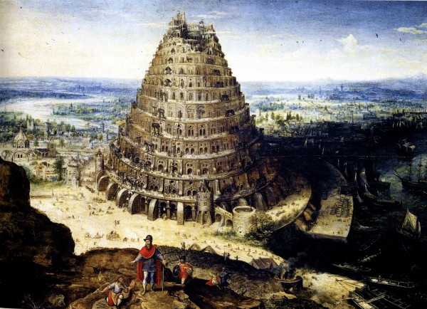 Tower of Babel, by Lucas van Valckenborch (Louvre Museum)