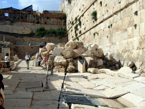 Temple Mount-Second Temple stones-Holy Land