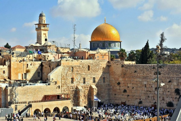 Western Wall-largest open air synagogue