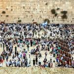 Kotel-crowds-Jewish prayer-Jerusalem