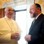Pope Francis-England-Chief Rabbi-anti-Zionoism