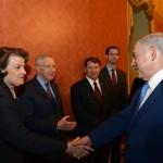 PM Netanyahu meets with the United States Senate leadership.