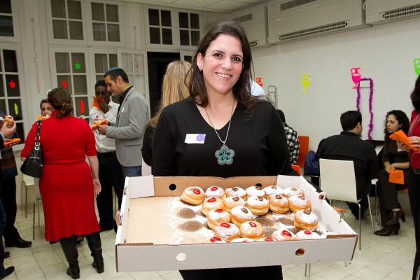 Hanukkah-donuts