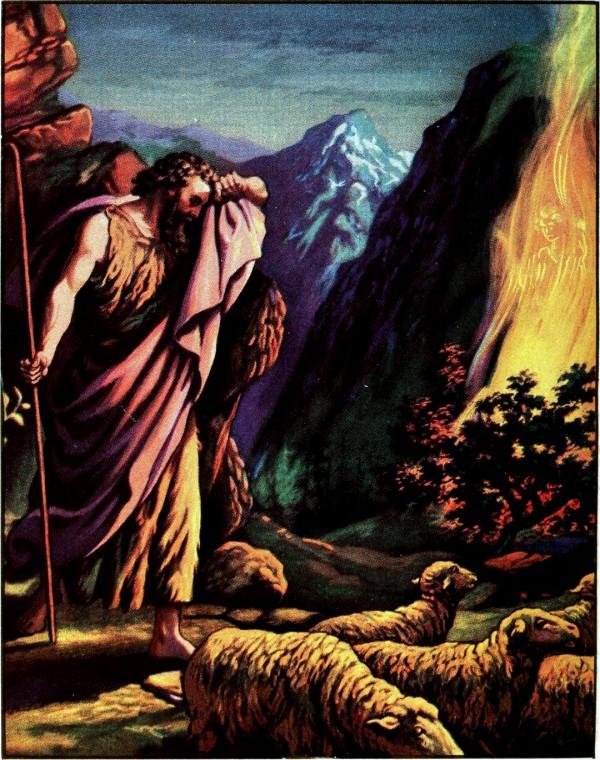 Moses-Burning Bush-Shepherd