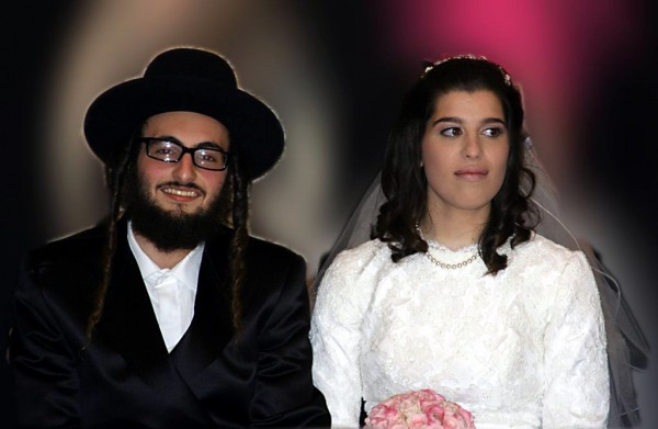 marriage, bride, groom, Jewish wedding