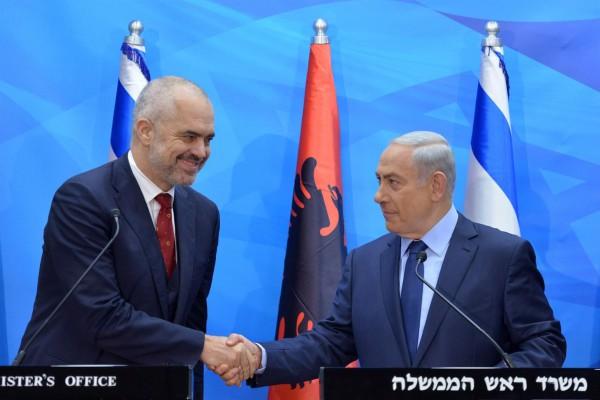 Prime Minister Benjamin Netanyahu-Albania- Prime Minister Edi Rama