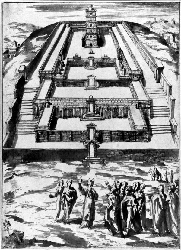 The Third Temple, by Pieter de Witte