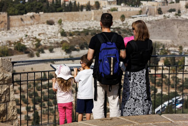 family-Old City of Jerusalem-Mount of Olives