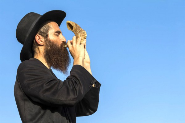 shofar, Yom Kippur, ultra-Orthodox, atonement, reconciliation