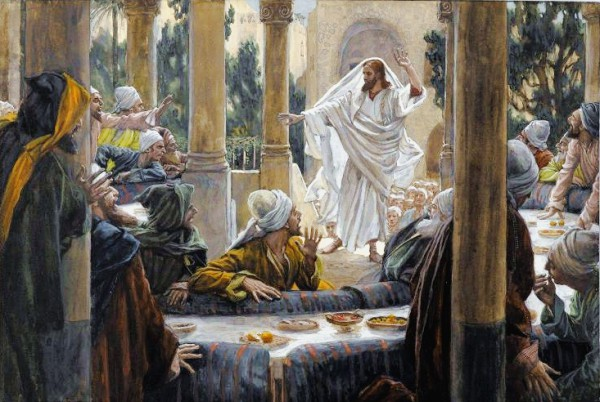 Curses Against the Pharisees, by James Tissot