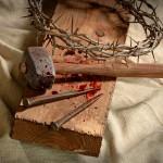 nails, cross, tree, blood, Resurrection Sunday, Jesus, Yeshua