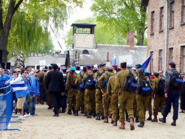 Auschwitz, March of the Living, IDF