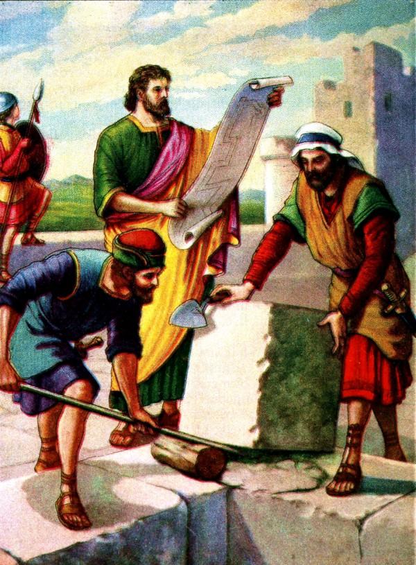 Nehemiah, Jerusalem, Temple