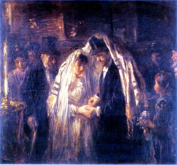 A Jewish Wedding, by Jozef Israels