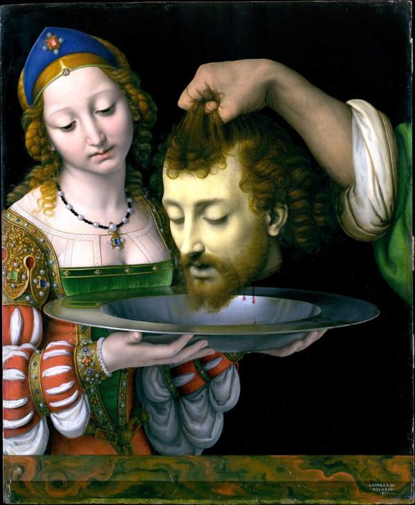 Salome with the Head of John the Baptist, by Andrea Solario