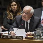 Palestinian terrorism, statehood, two states, Israel, Mansour, United Nations