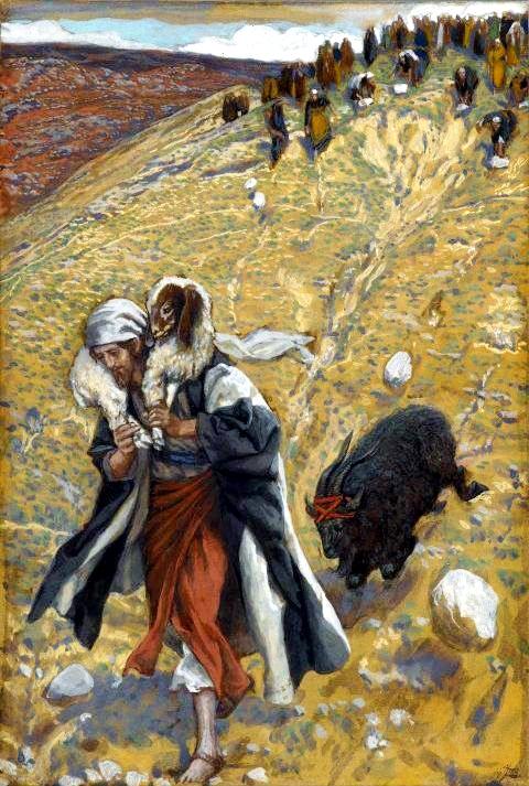 Agnes Dei: The Scapegoat, by James Tissot