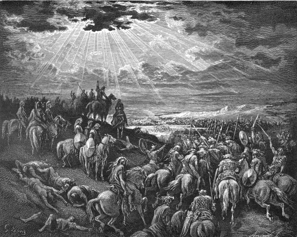 Joshua Commands the Sun to Stand Still - Gustave Dore