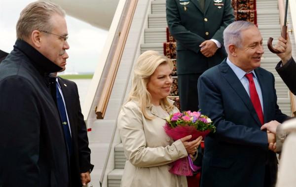 Sara and Benjamin Netanyahu, Israel-Russia, 25-years. Moscow