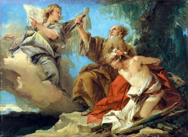 Sacrifice of Isaac - Giovanni Domenico Tiepolo