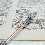 Torah, scroll, Moses, hand