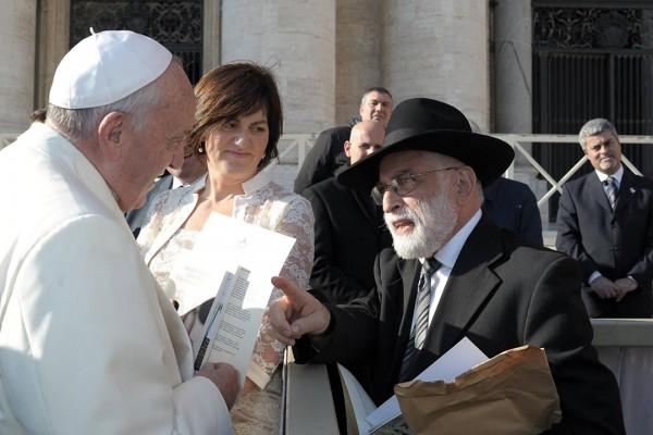 Yeshayahu Hollander, Pope Francis