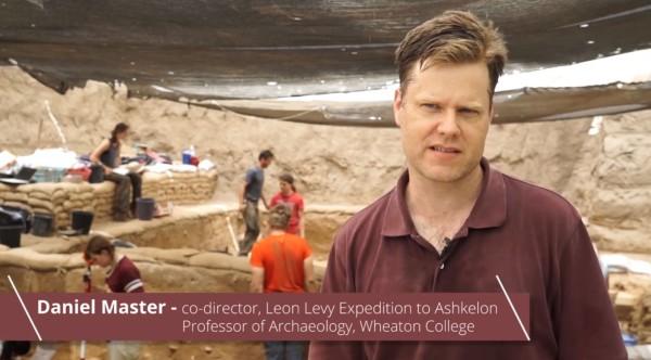 Daniel Martin co-director Ashkelon expedition