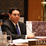 Danny Danon, UNSC, Hezbollah infantry map