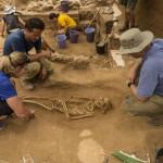 Ashkelon cemetery, Philistines, burial pit