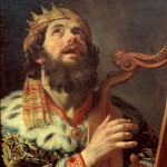 King David Playing the Harp, by Gerard van Honthorst