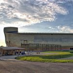Ark Encounter Theme Park, life size Noah's Ark