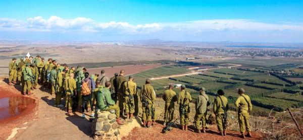 Mount Bental, Israeli Paratroopers, Syria-Israel border