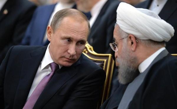 Vladimir Putin, Hassan Rouhani
