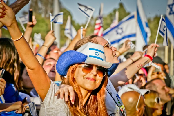 Celebrate Israel Festival in Los Angeles, 2013 (Photo: Israel American  Council; Commons License 2.0)