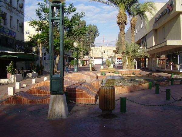 Pedestrian Mall in Be'er Sheva