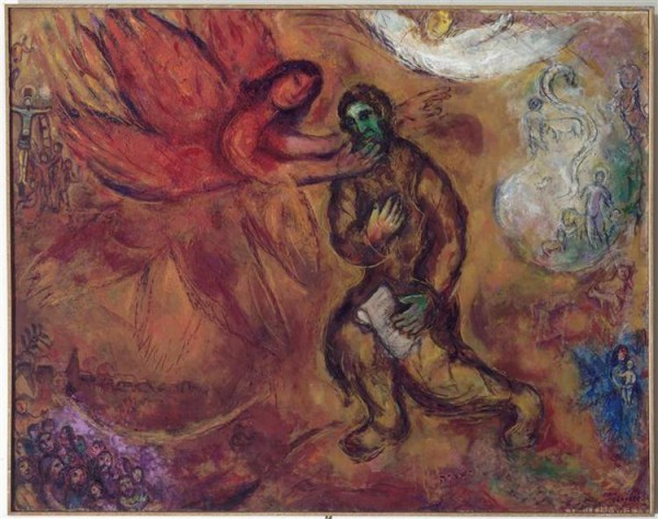 The Prophet Isaiah (1968), by Marc Chagall