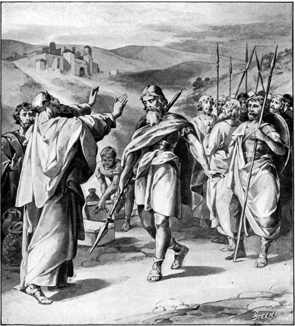 Melchizedek Blesses Abraham (1897), by Charles Foster