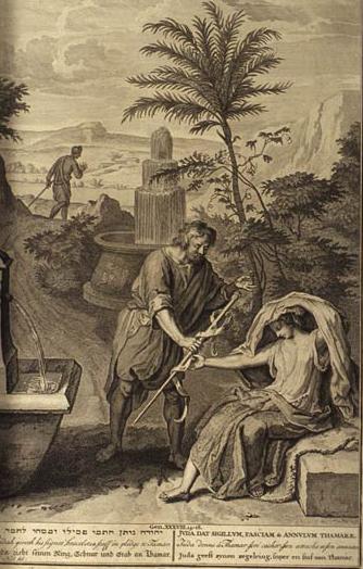 Genesis 38, Judah, scepter, Tamar, Gerard Hoet
