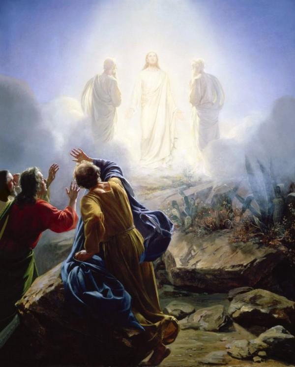 Transfiguration of Messiah, by Carl Heinrich Bloch (1800s)