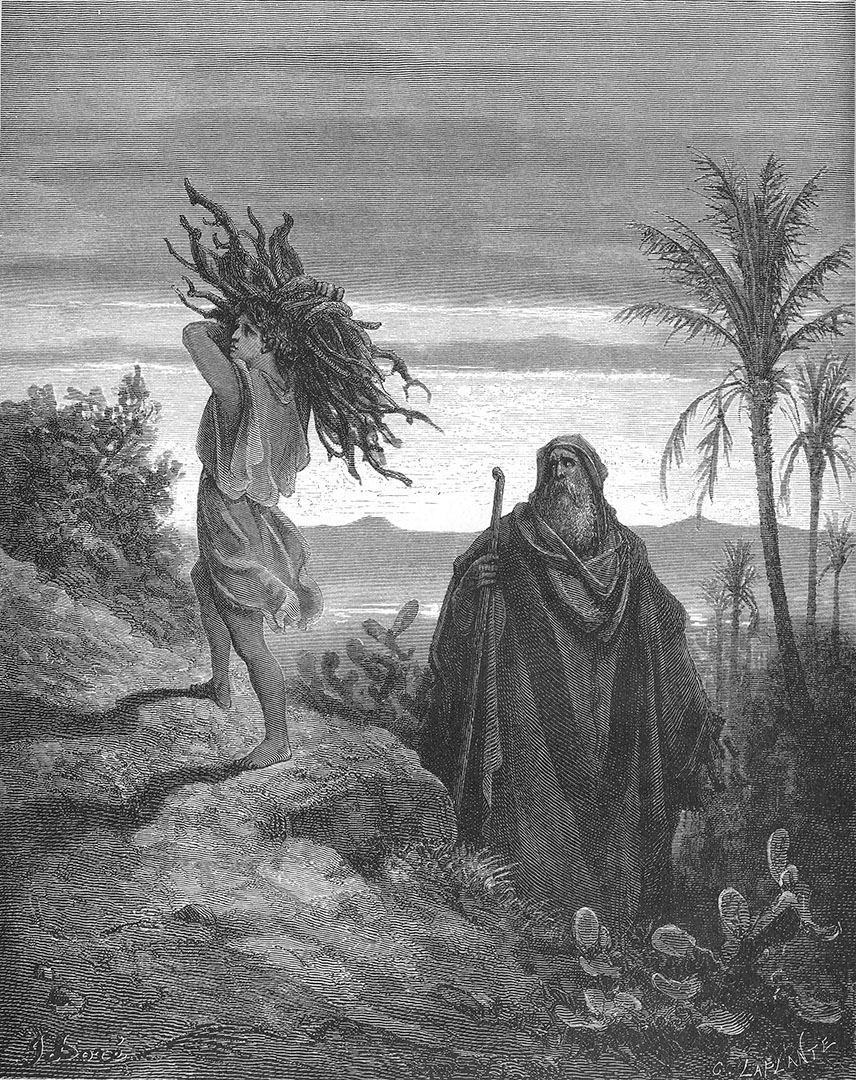 <b>The Testing of Abraham's Faith</b> (1866), by Gustav Dore