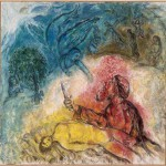 sacrifice of Isaac, binding of isaac, akedah, marc chagall