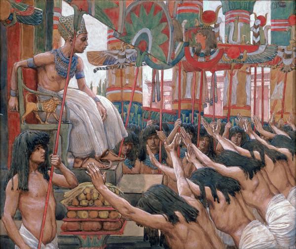 Joseph Dwelleth in Egypt, by James Tissot